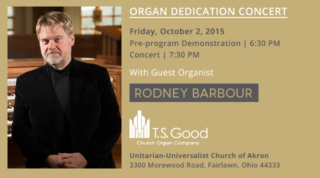 Organ Dedication Concert